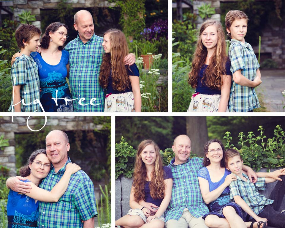Family session with Ania & Stuart