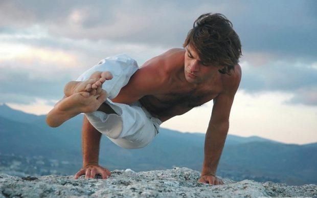 Power yoga for men
