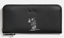 Coach X Peanuts accordion zip wallet