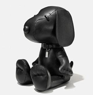 Coach X Peanuts XL leather snoopy doll
