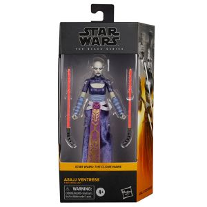 Star Wars The Cole Wars Asajj Ventress figure 15cm