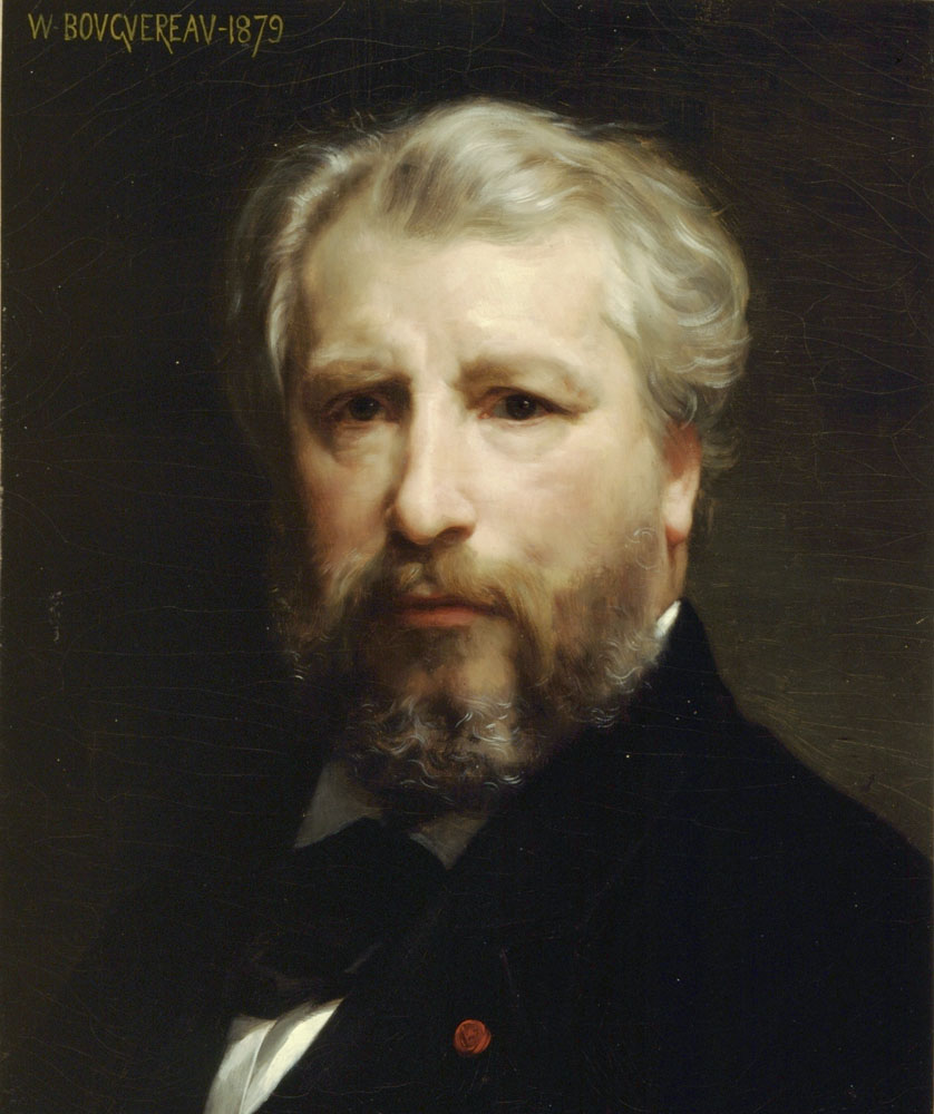 William Bouguereau, Self-portrait, 1879