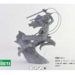 コトブキヤがARTFX J 進撃の巨人 エレン・イェーガー 360度回転画像公開! #shingekI #aot #kotobukya