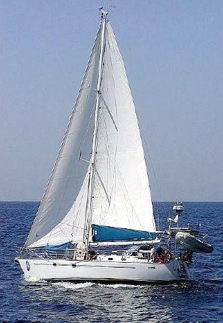 Ganley under sail