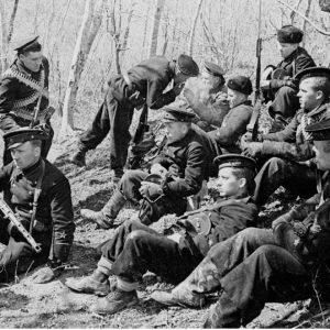 Sitting Sailors