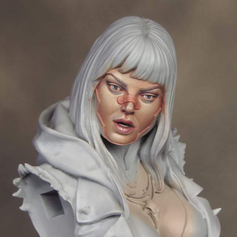 Painting Flesh Tones with Layered Glazes by David Soper Part 2