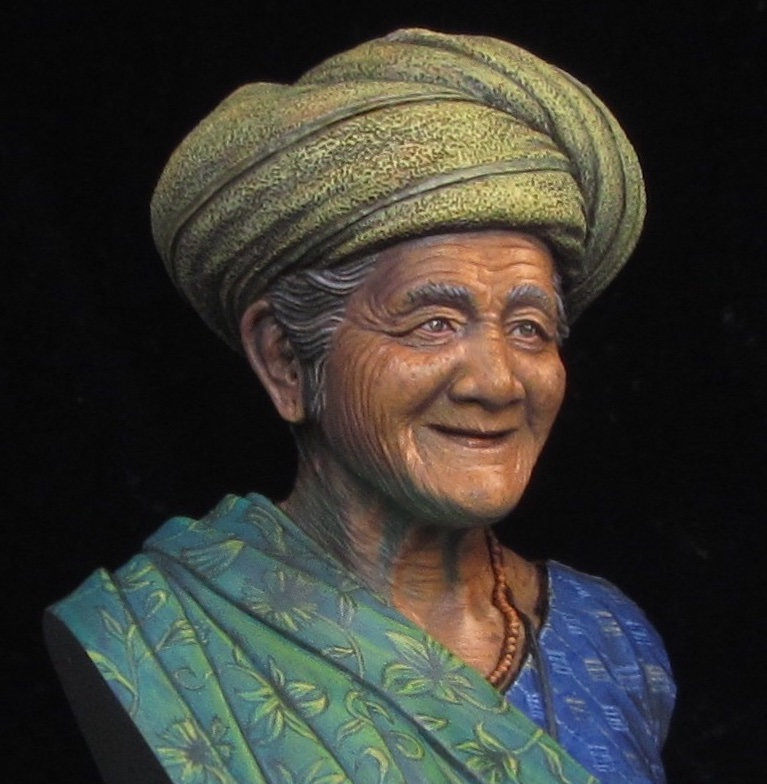 The old lady of Bali