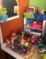 Toy Story 3 Sunnyside Daycare : story, sunnyside, daycare, Story, Sunnyside, Daycare, Diorama, Story), Custom, Playset