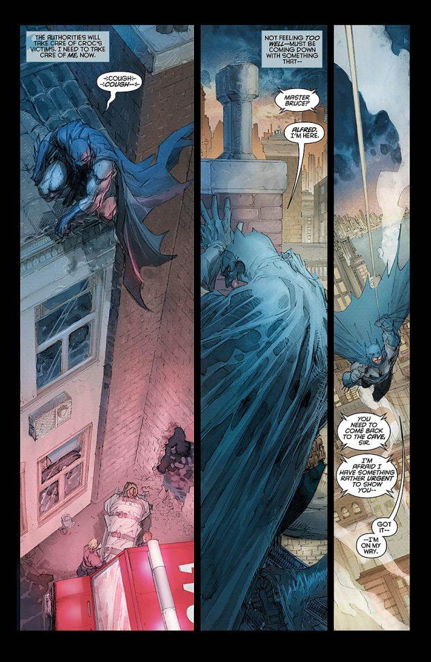 Batman Europa Interior Page Jim Lee Pencil