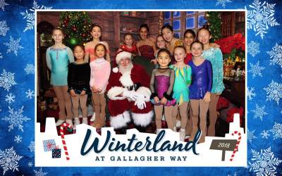2018 Tree Lighting Ceremony at Gallagher Way