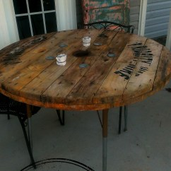 Spool Chair For Sale Purple Rocking Industrial Table Figuring Out Fabulous
