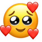 Emojis com amor