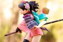1/8-scale Momohime PVC figure by Alter (outdoor shot #2)