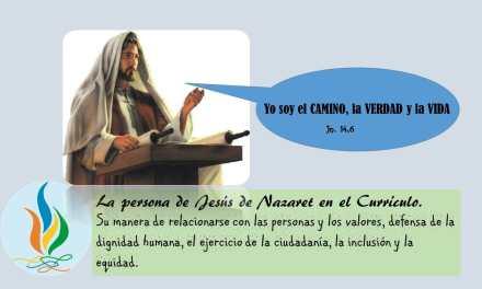 LA PERSONA DE JESÚS DE NAZARET EN EL CURRÍCULO