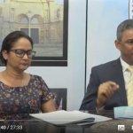 Participación  respecto a las Olimpiadas Bíblicas en el programa La voz de los obispos