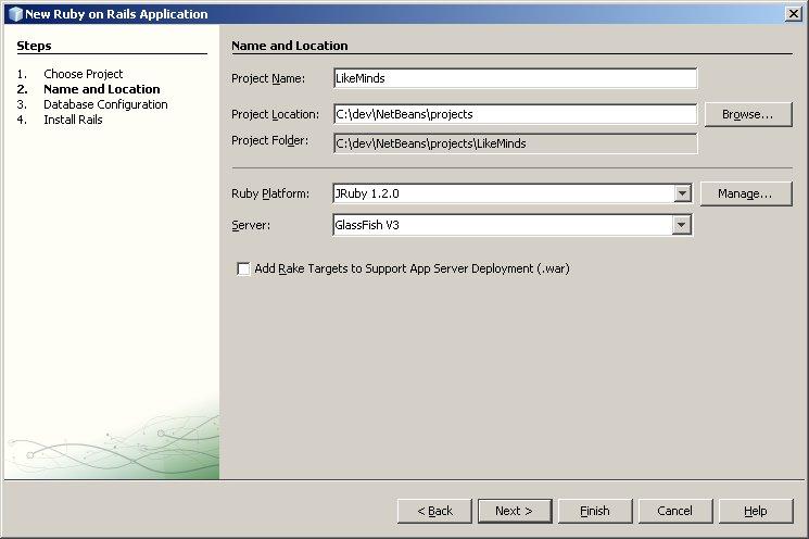 Netbeans_Rails_project_config