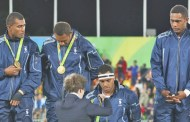 Team Fiji men's rugby sevens side won the country's first ever gold medal at the Olympic Games.