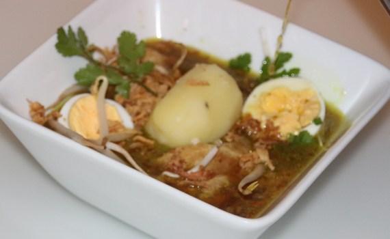 Vers Soep Lunch Huisgemaakt Homemade Gevogelte Bouillon Diner aziatisch