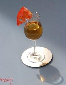 Bouillon van ice filtration gefilterde bouillon