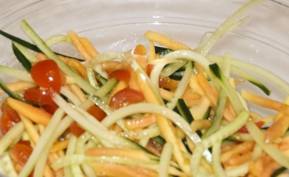 thaise Salade thais Jonge Papaja Salade exotische salade