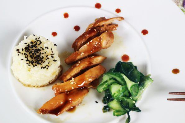 teriyaki saus recept teriyaki saus maken kip teriyaki recept kip teriyaki maken japanse salade japanse komkommer salade japanse gerechten japans koken japans eten Huisgemaakt