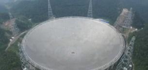 Dev teleskop FAST faaliyete geçti
