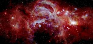 İşte Samanyolu Galaksisi'nin merkezi…
