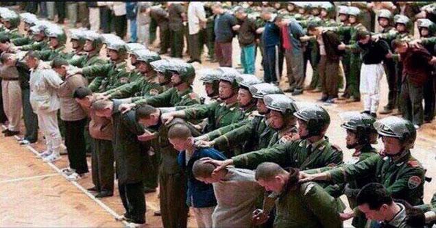 Uygur Türklerine Çin Zulmü