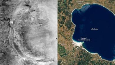 Mars'taki Jezero Krateri Ülkemizdeki Salda Gölü Benziyor