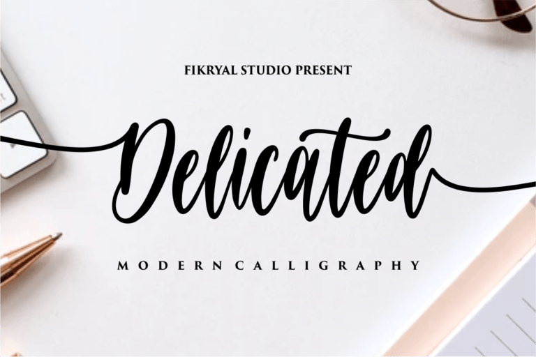 Preview image of Delicated – Modern Calligraphy