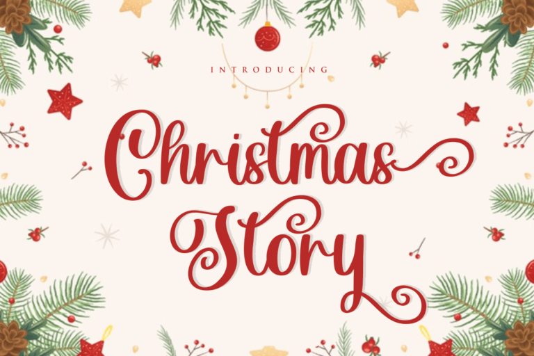 Preview image of Christmas Story – Script Font