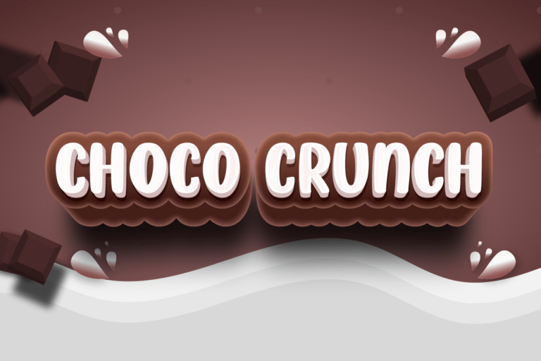 Choco Crunch - Display Font