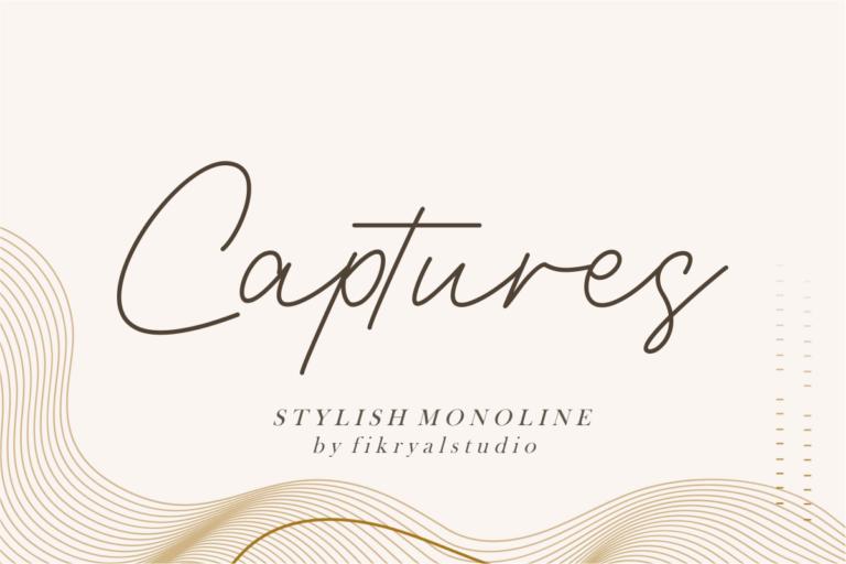 Captures - Stylish Monoline