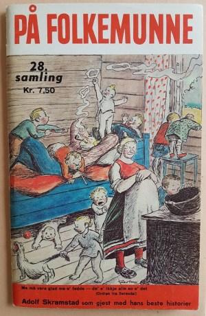 På folkemunne. 28. samling. Humorhefte.