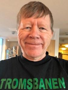 Forfatter Vidar Eng, fotografert av Gerd Bjørhovde