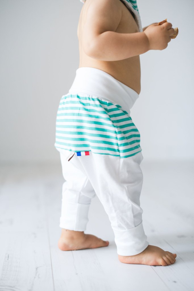 pantalon évolutif fil et du joli coton