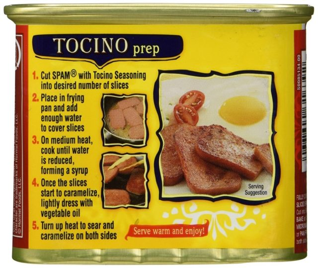 Tocino Instructions
