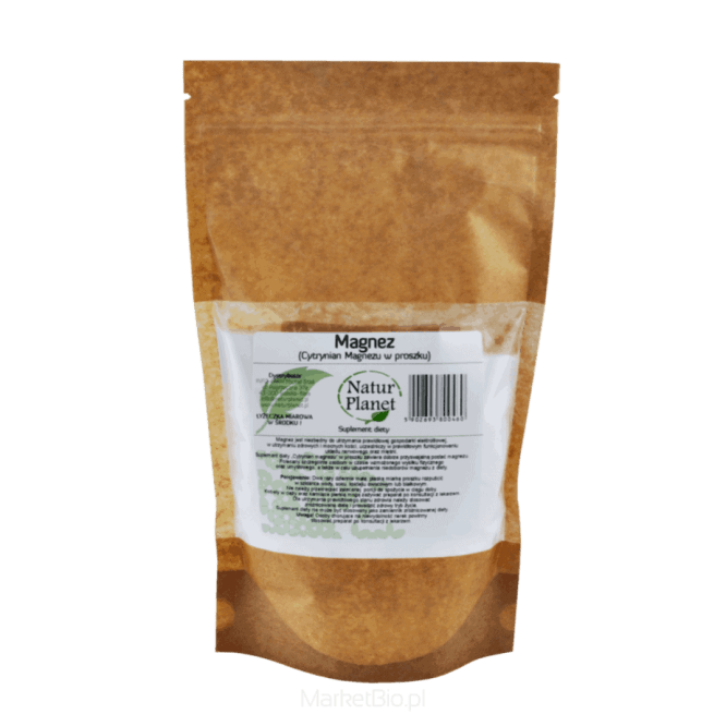 Magnez Cytrynian Magnezu 1046 porcji 1kg