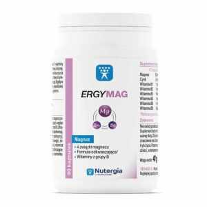ERGYMAG Nutergia 4 Związki Magnezu +Wit B 90 kaps
