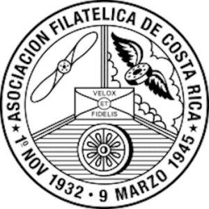 Logo Asociación Filatélica de Costa Rica