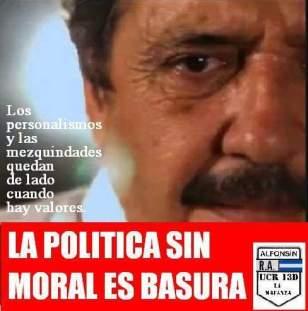 Política sin moral BASURA