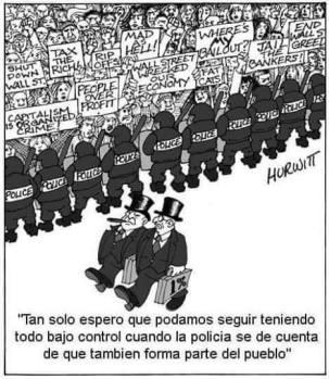 Policía pueblo