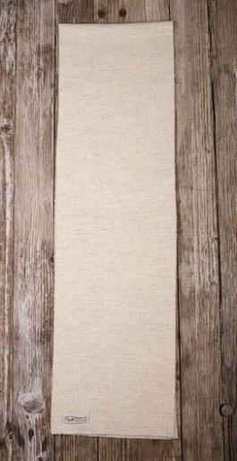 écharpe mérinos blanche pure laine vierge