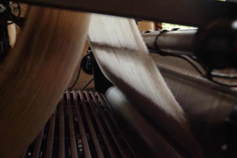 lavage de la laine brute