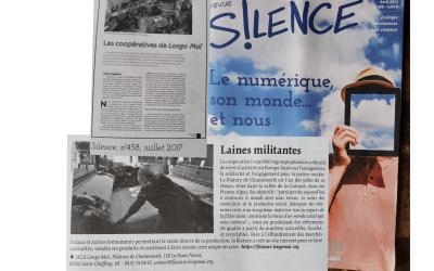 La revue Silence parle encore de nous !