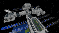 Galacticraft Map for Minecraft