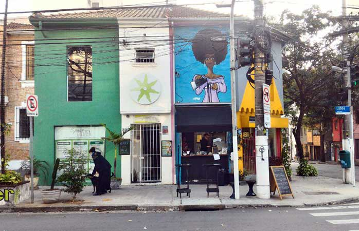 cafés em sp - The Little Coffee Shop