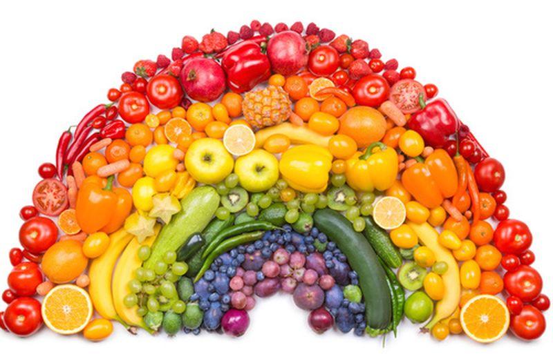 Le Proprietà Di Verdura E Frutta In Base Ai Colori Cure