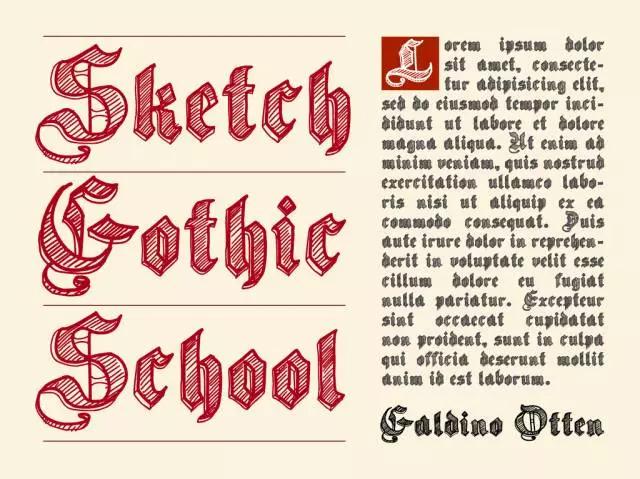 最近這種「非主流」哥特字體,在全球真的紅到不行 - 數英