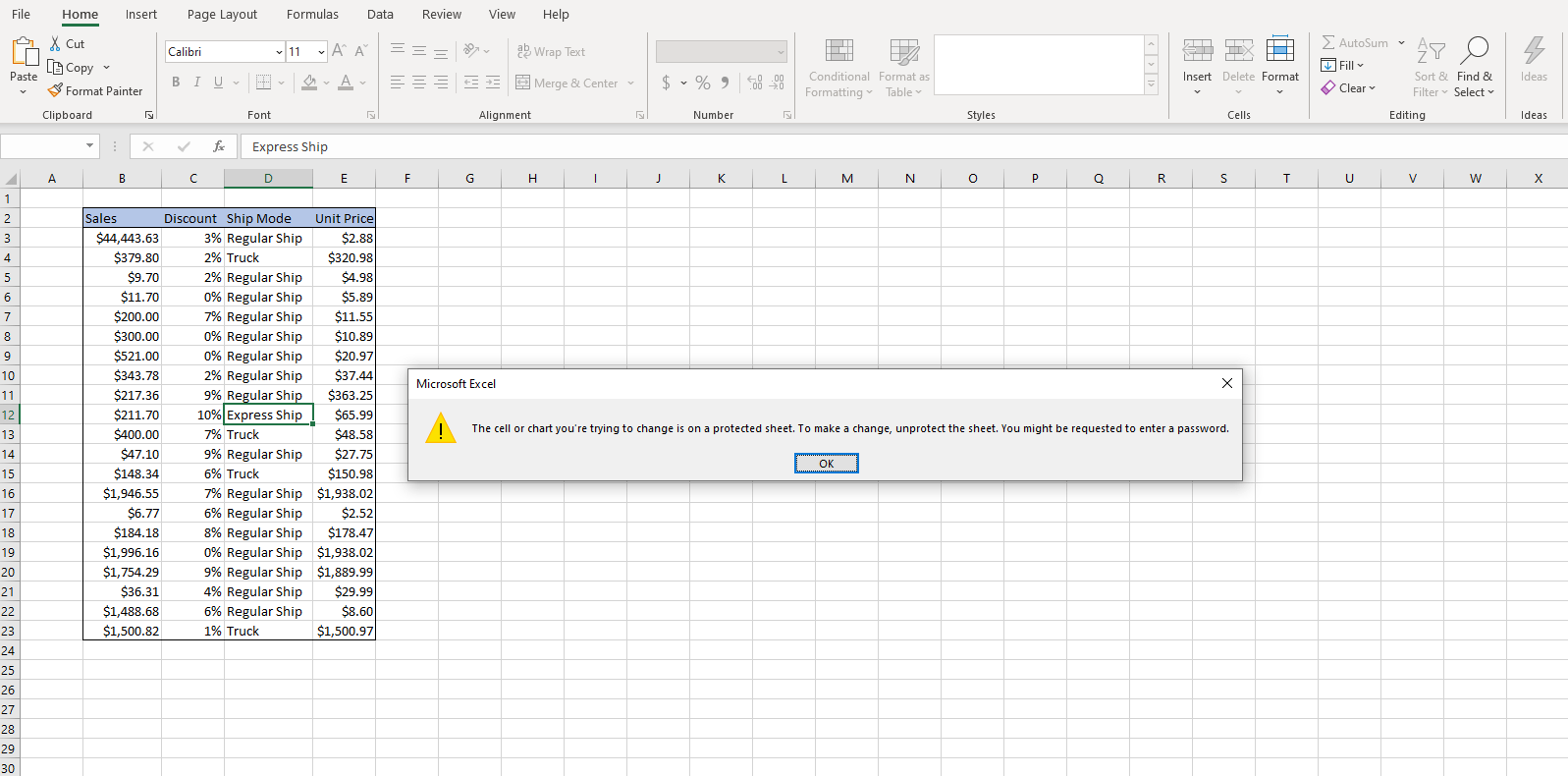 Protect Excel Worksheet And Workbook With Password